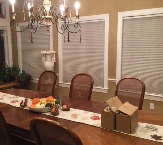Waban Dining Room Refresh – Before and After