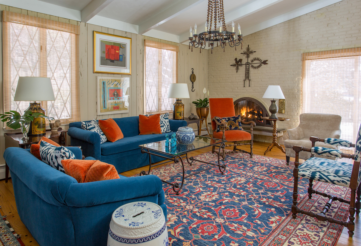 living-room-interior-design-newton-ma-blue-couches