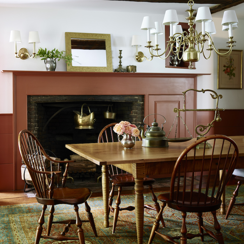 Lw Interiors Farmhouse Dining Room Interior Design