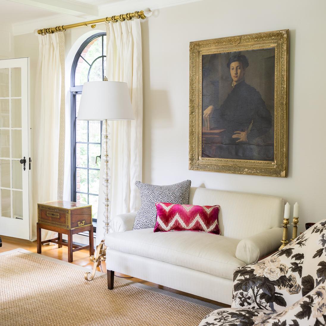 newton-ma-interior-design-antique-wall-art