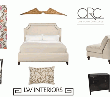 One Room Challenge – LWI Project Angel Wings – Final Reveal!